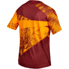 Endura SingleTrack Dots LTD Tech Tee Men, mandarin